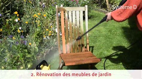 peindre chaise en bois réparer et rénover les meubles de jardin en bois