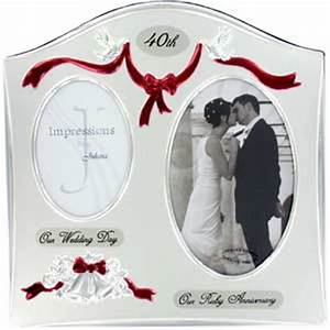 The choices for 40th wedding anniversary gifts for Gift for 40 wedding anniversary