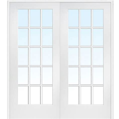 frosted glass interior doors home depot mmi door 72 in x 84 in both active primed composite