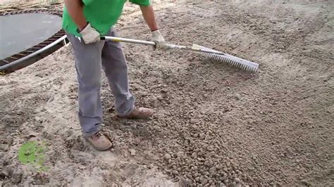 how to put in a new lawn how to prepare soil for planting grass seed nature s finest seed youtube