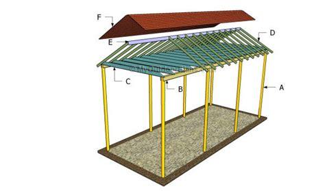 building a carport rv carport plans myoutdoorplans free woodworking plans