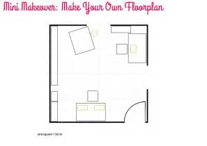 Make A Floorplan Mini Makeover Make Your Own Floorplan Style For A Happy Home