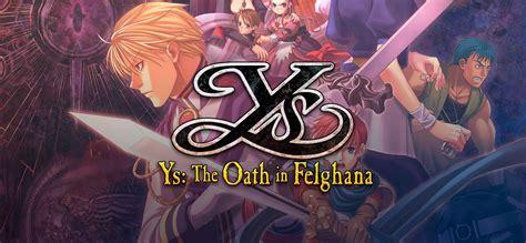 ys  oath  felghana game   full version