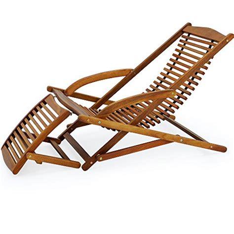 chaise de jardin en bois chaise longue en bois dur d 39 acacia inclinable pour jardin