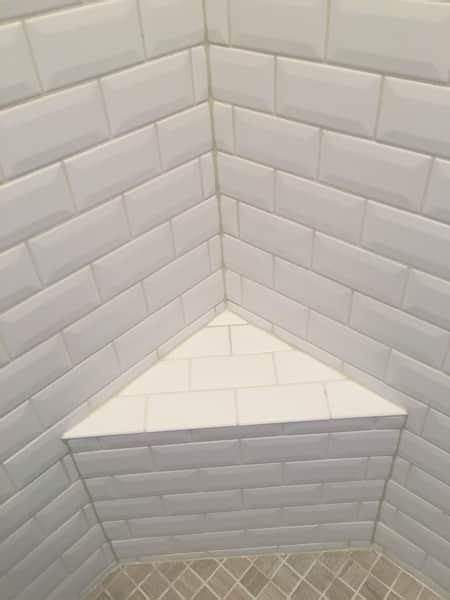 avoid cracked grout caulk tile shower corners angies list