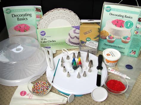 cake decorating class supply list wilton cake decorating classes