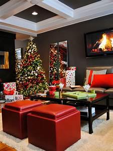 Christmas, Living, Room, Decor, Ideas, U2013, The, Wow, Style