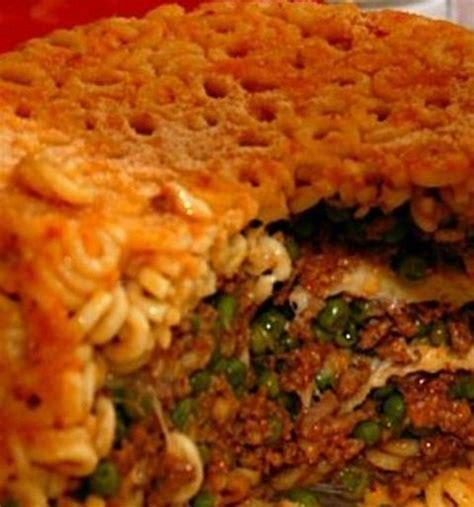 cuisine sicilienne timbale de pâtes au four la conque d 39 or