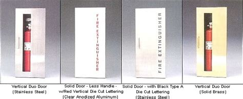 Larsen Extinguisher Cabinets Occult by Larsen Manufacturing Occult Series
