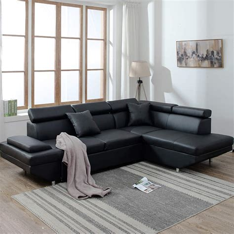 Designer Corner Sofa Beds by New Modern Contemporary Leather Sectional Corner Sofa Bed