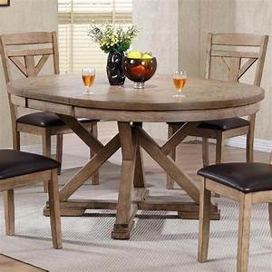 Winners, Only, Grandview, Round, Table, With, Butterfly, Leaf