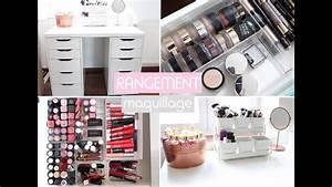 Rangement De Maquillage : mon rangement maquillage 2016 youtube ~ Melissatoandfro.com Idées de Décoration