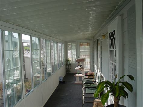 patio enclosure mobile home flickr photo