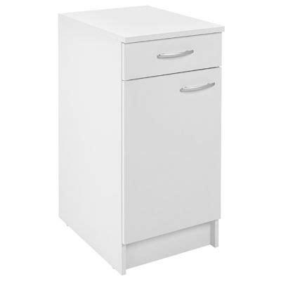meuble bas cuisine castorama meuble cuisine bas 1 porte 1 tiroir 40 cm blanc primalight 3 castorama