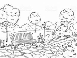 park clipart black and white 4 | Clipart Station