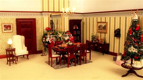 Watch This Dolls' House Decorate Itself For Christmas