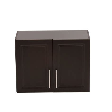 Hton Bay Cabinet Doors Only by Hton Bay Select 2 Door Mdf Wall Cabinet In Espresso