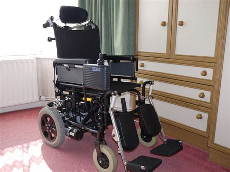wheelchair assistance used electric wheelchair for disabled