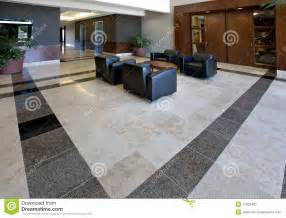 tile flooring ideas for bathroom office lobby showing tile floor stock image image 11932461
