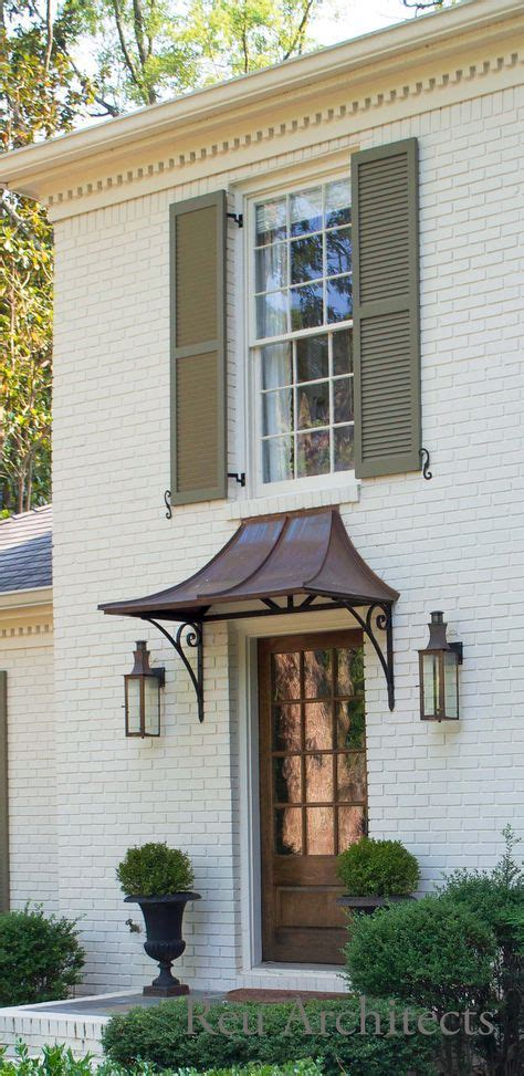 small front door awning window  ideas front door awning awning  door house awnings