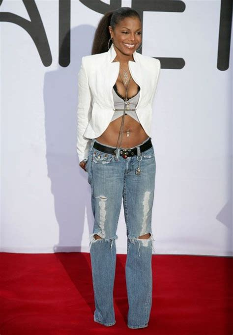 earlier  year janet jackson show   toned body