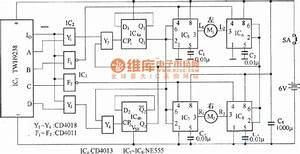 Electric Car Remote Control Circuit Diagram Under