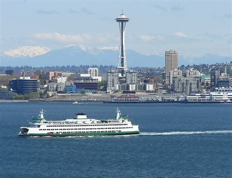 Ferry Boat Jobs Seattle by Seattle Sound Ferry Needle Mountains Downtown Flickr