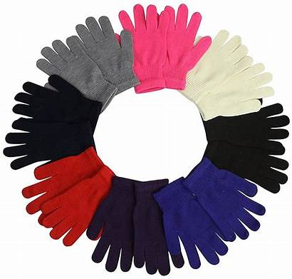 Gloves Winter Mittens Magic Wholesale Knitted Womens