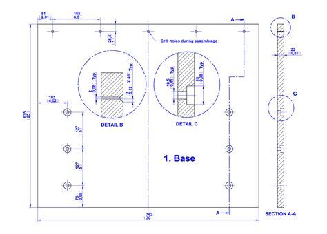 board gluing fixture plan