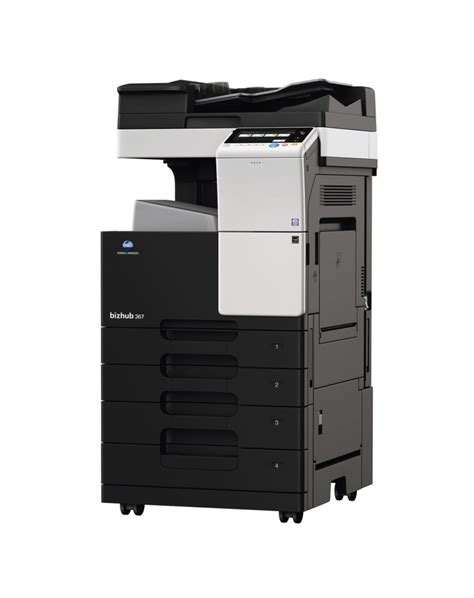 These b&w printers output documents at speeds up to 36 ppm. Konica Bizhub 367: copieur multifonction A4-A3 Noir & Blanc - Konica