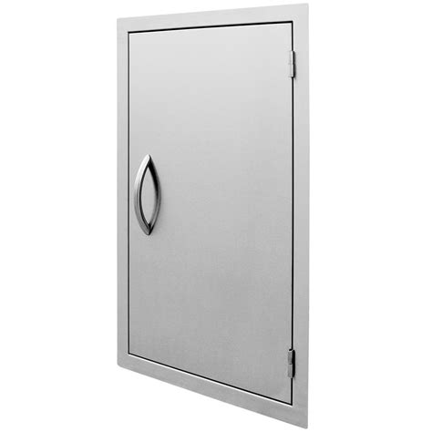 cal flame   vertical stainless steel door bbq   home depot