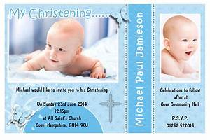 Free Baptism Invitation Template   Free Christening