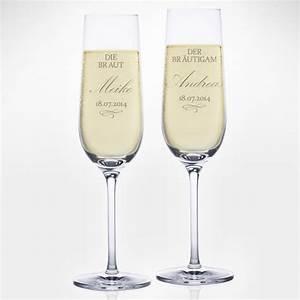 Sektgläser Hochzeit Gravur : sektgl ser mit gravur zur hochzeit braut und br utigam sektgl ser mit gravur gl ckliche ~ Sanjose-hotels-ca.com Haus und Dekorationen