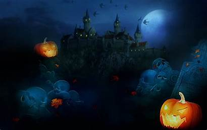 Halloween Scary Wallpapers Screensavers Witches Pumpkins