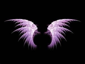 Beautiful Purple Guardian Angels | free purple angel wings ...