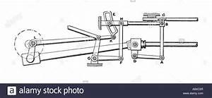 Walschaert Steam Locomotive Valve Gear Stock Photo  12190594