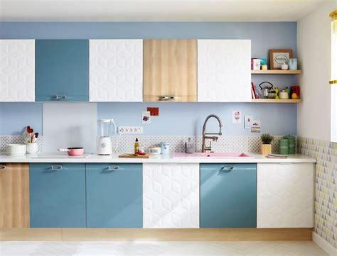 cuisine bicolore leroy merlin cuisine delinia a du style côté maison