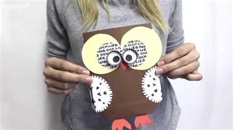 diy basteln mit papier geschenktuete bastelidee anleitung youtube