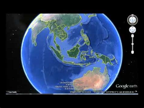 indonesia google earth view youtube