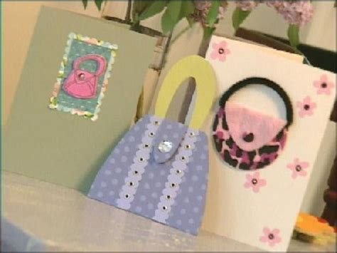 purse themed greeting cards easy crafts  homemade