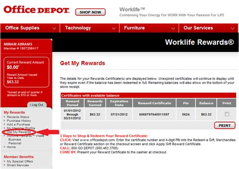 Office Depot Coupons December 2012 by Deals Seeker How Does Office Depot S Worklife Rewards Work