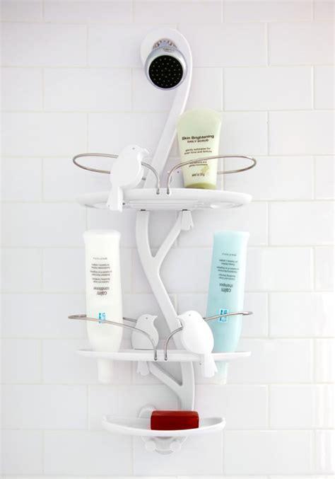 untraditional shower caddies playful designs  unique