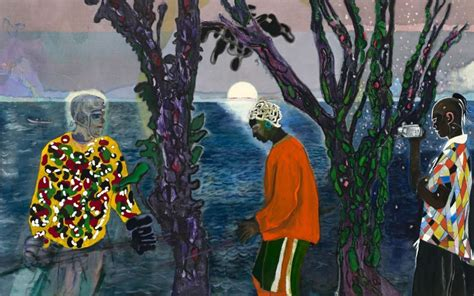 peter doig michael werner gallery review proof