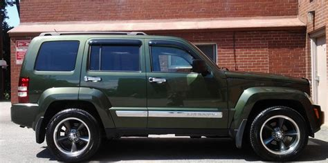 stanced jeep liberty jeep liberty limited edition 100 jeep liberty roof lights