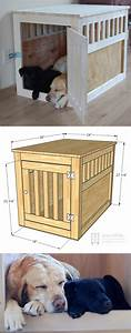 26 best diy pet bed ideas and designs for 2018 for Best wooden dog crate