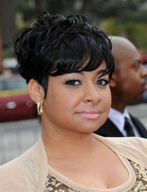 african american short layered black human hair capless