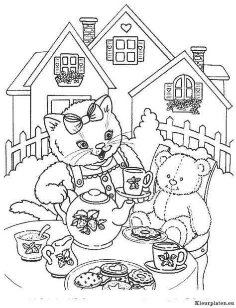 Kitens Kleurplaat by Kittens Kleurplaat 008510 Kleurplaat
