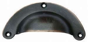 Poignée Coquille Noire : poign e coquille acier noir reflets cuivre ~ Teatrodelosmanantiales.com Idées de Décoration