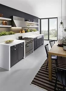 Schwarze Hochglanz Küche : 78 besten k chenfarbe ideen und bilder bilder auf pinterest hochglanz k chen und k chen design ~ Sanjose-hotels-ca.com Haus und Dekorationen