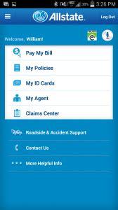 introducing  allstate mobile app grossmiller agency